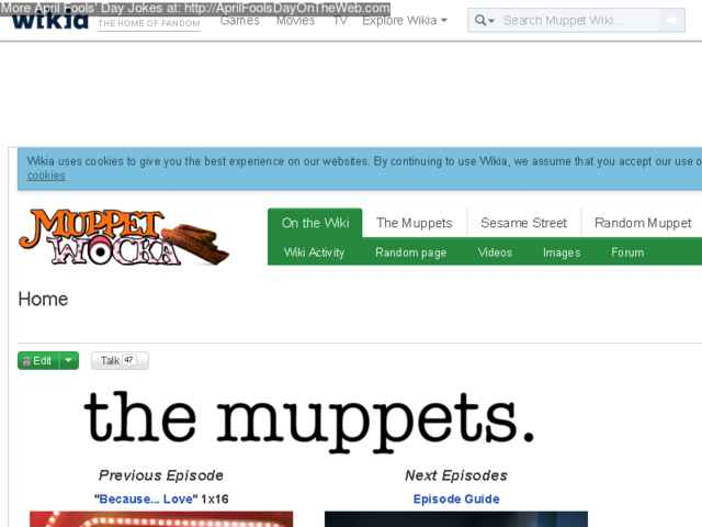April Fools' Day On The Web (2016/20160104) (muppet wikia com