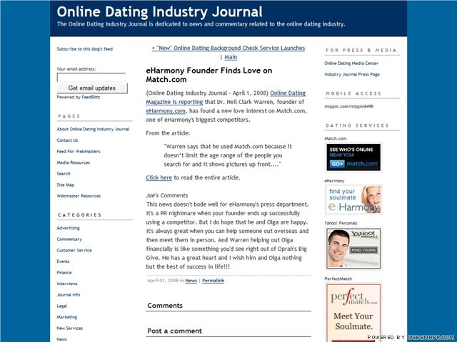 online dating email jokes