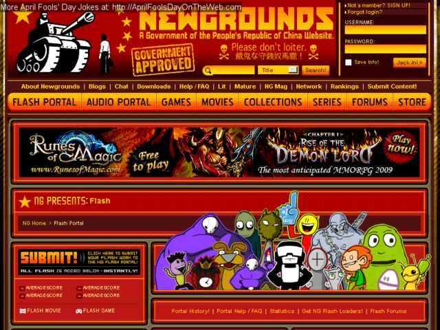 newgrounds mature portal
