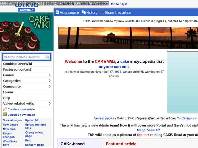 April Fools' Day On The Web (2010/8528) (half-life wikia com - The